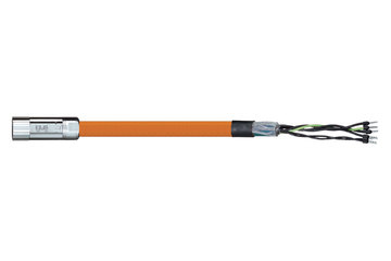 readycable® motor cable suitable for Parker iMOK44, base cable iguPUR 15 x d