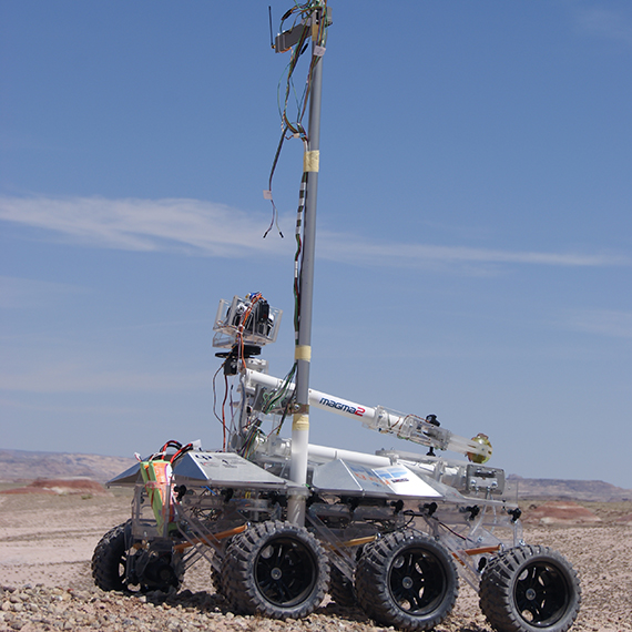 Exploration robot for the most adverse conditions