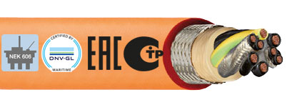 Offshore chainflex® cables