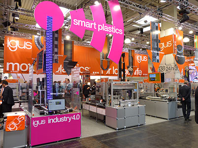 igus® at trade fairs