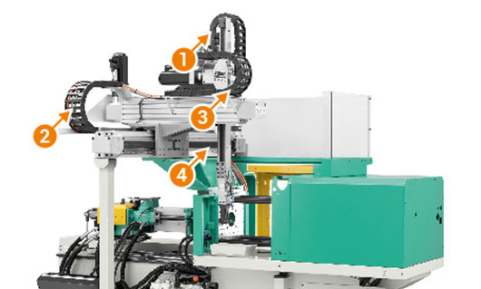 Injection moulding machine for plastics processing by Arburg