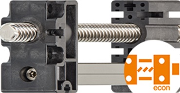 Cost-effective drylin® econ linear axes